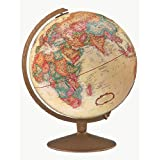 Replogle Globes Franklin Globe, Antique Ocean, 12-Inch Diameter ~ Replogle Globes