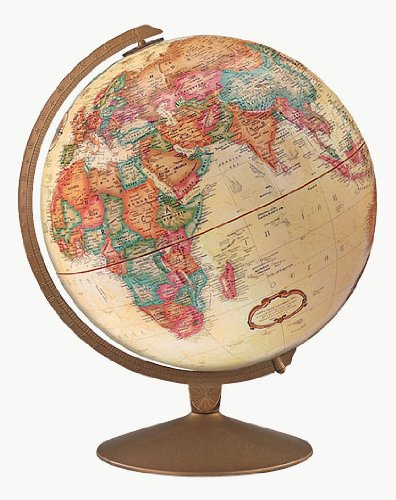 Replogle Globes Franklin Globe, Antique Ocean, 12-Inch Diameter 0