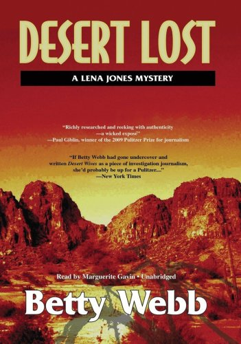 Desert Lost (A Lena Jones Mystery)(Library Edition) (Poisoned Pen Press Mysteries)