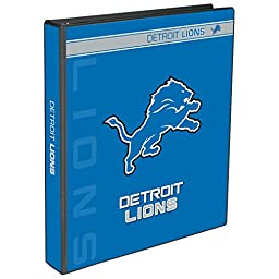 C.R. Gibson 3-Ring Binder, Detroit Lions (N907584WM)