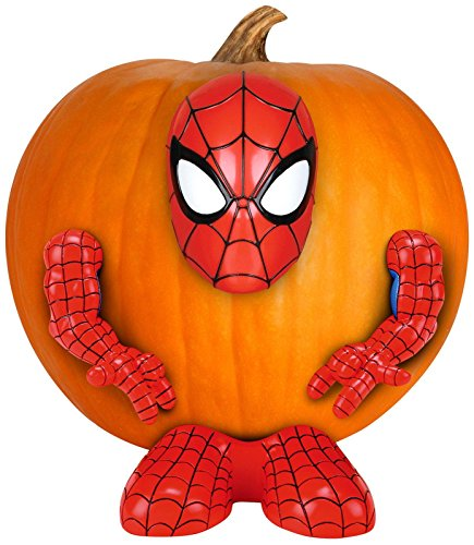 Marvel Pumpkin Push-Ins, The Ultimate Spider-man
