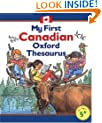 My First Canadian Oxford Thesaurus: Illustrated by Steve Cox