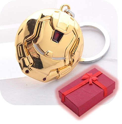Nido del Bimbo 913 - [HULKBUSTER MASCHERA GOLD] Portachiavi Marvel The Avengers Dc Comics Justice League of America Star Wars Film Videogiochi Cartoni Animati Supereroi Fumetti Manga Villians Cattivi Buoni ...