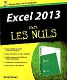 echange, troc Greg HARVEY - Excel 2013 Pour les Nuls