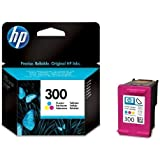 Original HP 300 no300 Tri-colour Ink Cartridge Ink Cartridges (CC643EE) Deskjet / PSC/ Photosmart/ Officejet /Digital Copier printers - Easy Mail Packaging - Foil