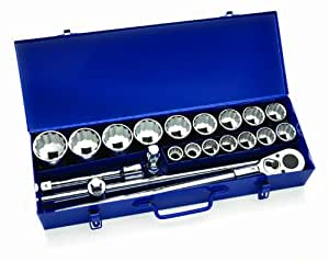 Williams 33901 21-Piece 3/4-Inch Drive Socket Lok Tool Set