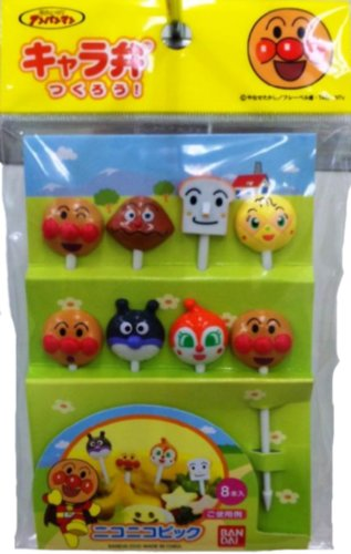 Anpanman smiling Pick 338 549 (japan import)