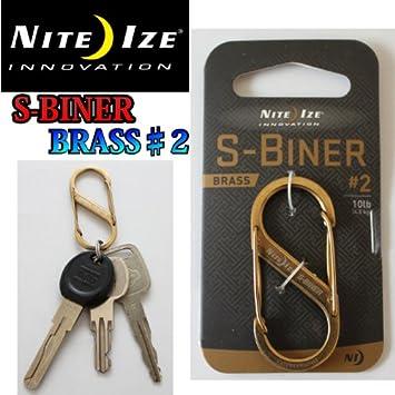 S-BINER BRASS #2