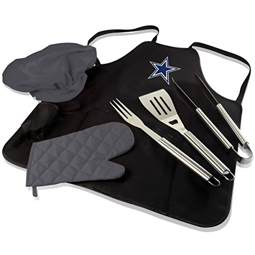 NFL BBQ Apron Tote Pro, Dallas Cowboys (Cowboys Chef Hat And Apron Set compare prices)