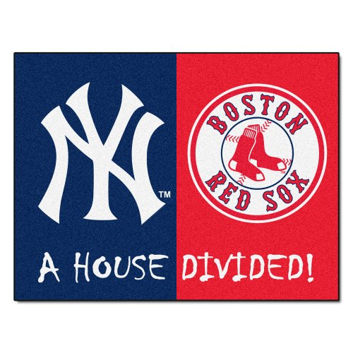 Fanmats Mlb House Divided Nylon Face House Divided Rug front-380651