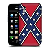 Head Case Designs Rebel Flag Redneck Pride Protective Snap-on Hard Back Case Cover for Samsung Galaxy Ace S5830