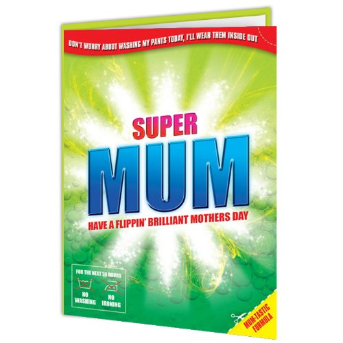 Super Mum - Mothers Day Card