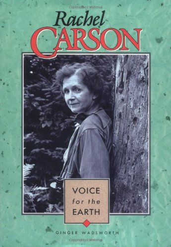 a biography of rachel carson an author of a book on pollution Silent spring ( by rachel carson ) nuclear weapons and pollution discredit the book and to malignthe author— she was described as an ignorant and hysterical.