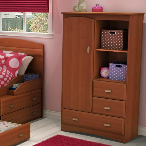 Cheap South Shore Armoire Imagine Collection, Morgan cherry