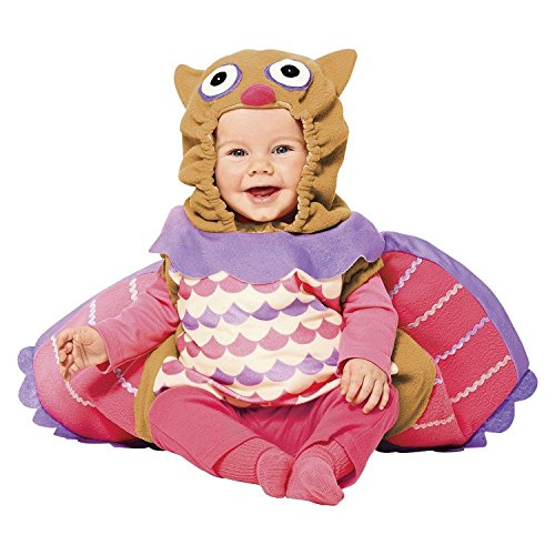 Infant Plush Owl Dress up Costume Pretend Play