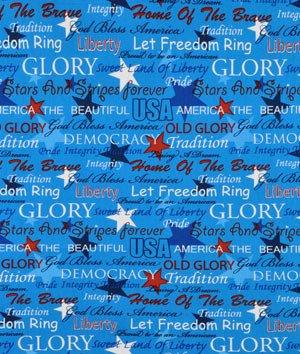 Springs Creative Patriotic USA Pride Fabric by the Yard - Douglas J ... ea606ba54