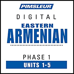 Armenian (East) Phase 1, Unit 01-05 Audiobook