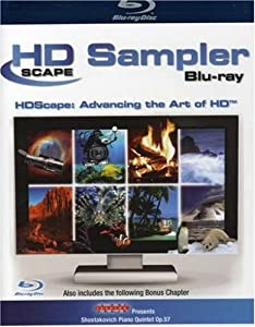 HDScape Sampler [Blu-ray] [2005] [UK Import]