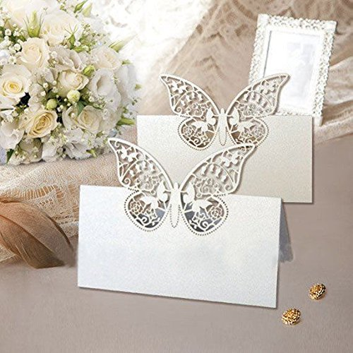 20-butterfly-card-place-markers-pearly-white-glittery-wedding-party-favours-invitations