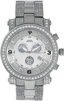 AQUA MASTER 7-6W #104-2 - Reloj para hombres