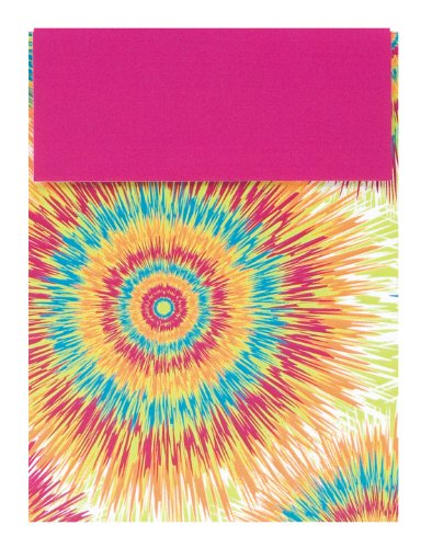 The Gift Wrap Company Tie Dye Bursts Sliding Gift Card Holder (Pack of 12)