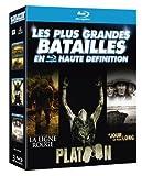 Les Plus grandes batailles en haute d�finition : La Ligne Rouge + Platoon + Le jour le plus long [3 Blu-ray]