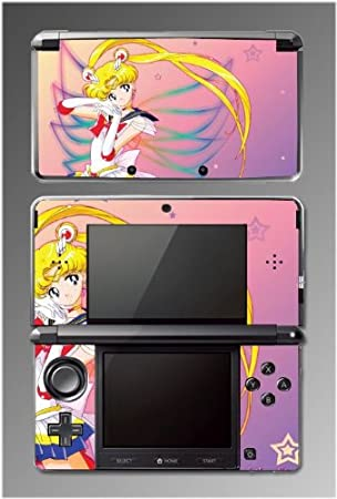Sailor Moon Jupiter Mars Venus Game Vinyl Decal Cover Skin Protector #2 for Nintendo 3DS