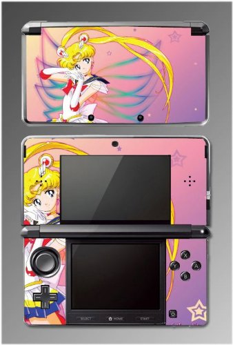 51Mr5OmL4%2BL Cheap Price Sailor Moon Jupiter Mars Venus Game Vinyl Decal Cover Skin Protector #2 for Nintendo 3DS