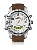 TIMEX Reloj de cuarzo Man Expedition Rugged Chronograph Marrón 42 mm