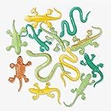 Fun Express Mini Snakes and Lizard Assortment (144 Piece)