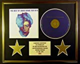 DAVID BOWIE/CD DISPLAY/ LIMITED EDITION/COA/THE BEST OF DAVID BOWIE 1974/1979