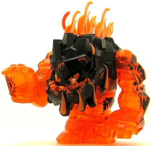 LEGO® Rock Monster Eruptorr – Große Power Miner Minifigur – Trans-Orange jetzt kaufen