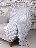 Bottega Tessile Plaid Gris Claro 130 x 170 cm