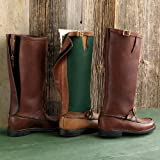 Orvis Men's Gokey Snakeproof Boots / Light Cordura Zip-back Boots, 10 1/2, Width: D by NYC Leather Factory Outlet