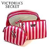 VICTORIA'S SECRET ヴィクトリアシークレット ビクトリア ポーチ コスメポーチ ビニール製 セット 並行輸入品 A1731