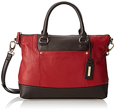 Tignanello Smooth Operator Convertible Satchel Top Handle Bag