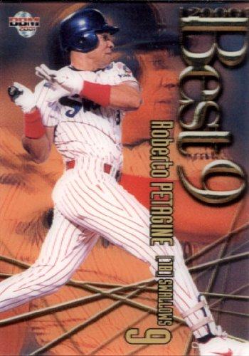 BBM2001 ベースボールカード ベストナイン No.B21 ペタジーニ