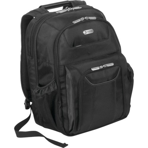 Targus Checkpoint-Friendly Air Traveler Backpack for 16 Inch Laptops TBB012US (Black)