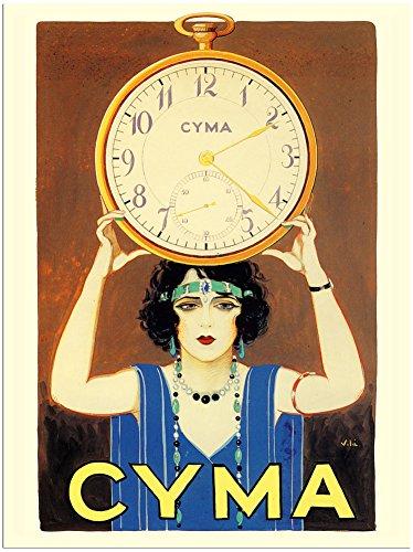 cyma-watches-advert-30x40cm-art-print