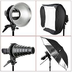 Neewer S-Type Bracket Holder with Elinchrom Mount for Speedlite Flash Softbox Beauty Dish Reflector Umbrella