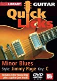 Quick Licks for Guitar - Jimmy Page Minor Blues Key of C by Lick Library