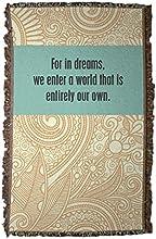 Dumbledore Quote - Woven Blanket - quotFor in dreamsquot