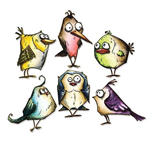 Sizzix Framelits 18 Piece Bird Crazy Die Set