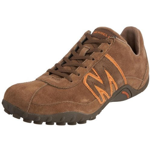 Merrell Men's Sprint Blast Ltr Whiskey/Dk orange Lace Up J544089 7 UK