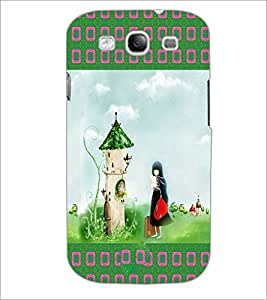 PrintDhaba Cartoon D-2489 Back Case Cover for SAMSUNG GALAXY S3 (Multi-Coloured)