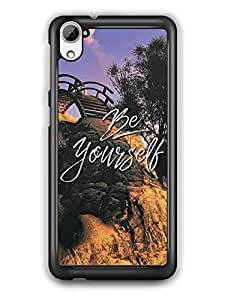 YuBingo Be Yourself Designer Mobile Case Back Cover for HTC Desire 826