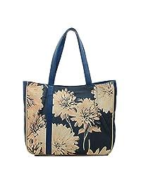 Bagsy Malone Floral Bed Handle Bag - B01BDA42ZE