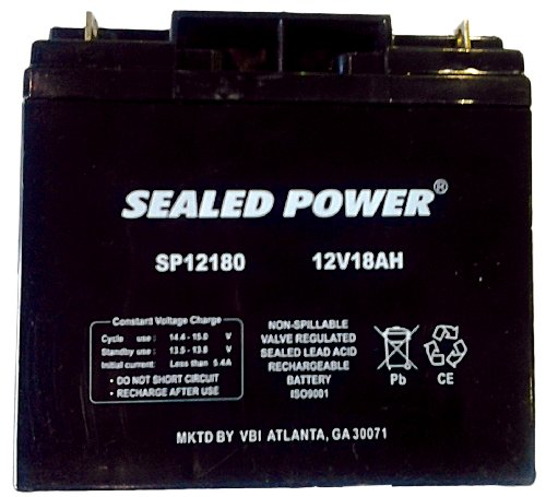 12Volt - 18Ah Rechargeable Sealed Lead Acid Battery
