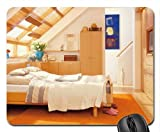 Remodel Attic Bedroom Mouse Pad, Mousepad (Houses Mouse Pad)