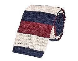 Tiekart Striped Men'S Tie (Mk100_Multi-Coloured)